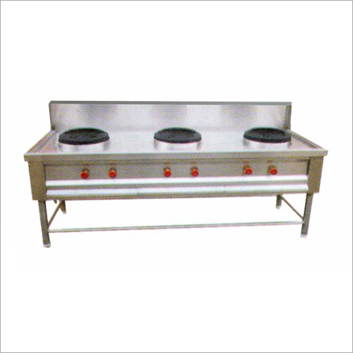 3 Burner Chinese Cooking Gas Range