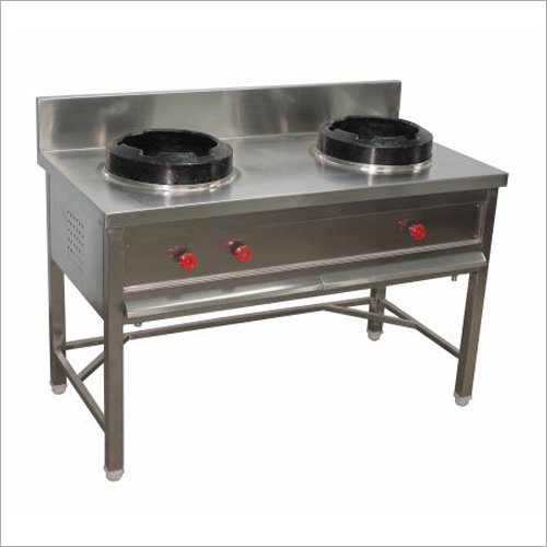 2 Burner Chinese Cooking Gas Range