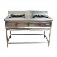 2 Burner Indian Cooking Gas Range