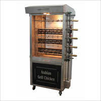 50 Birds Smart Chicken Grill Machine with Both Side Visible