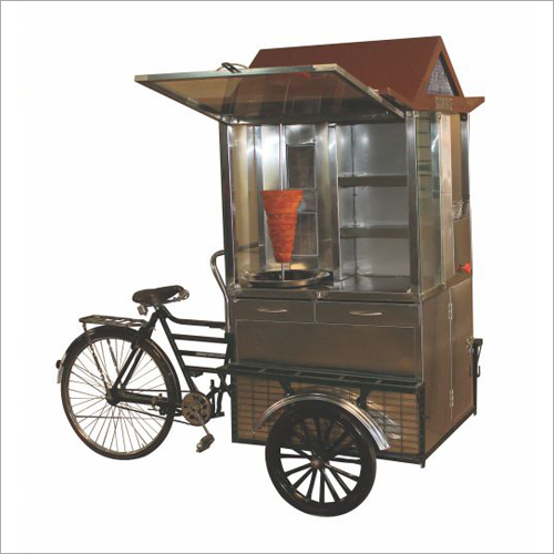 Cycle Shawarma With Fryer Drawer And Side Rack