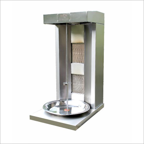 2 Burner Chicken Shawarma Machine