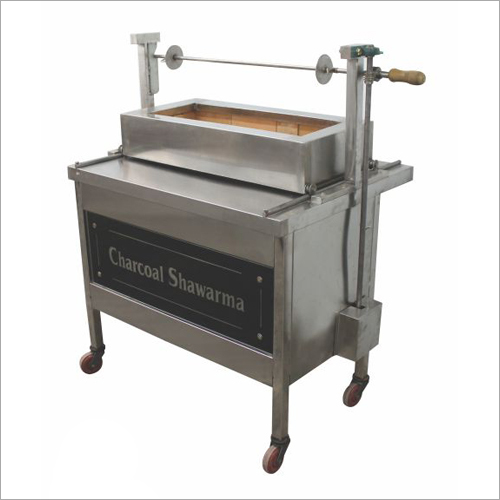 Charcoal Chicken Shawarma Machine with Siding Tray