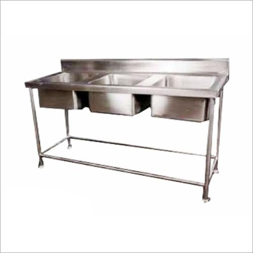 3 Bowl Dish Wash Unit
