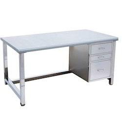 Steel Rectangular Table