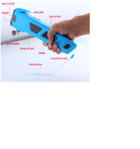 Portable Formaldehyde Tester With Safety Hammer