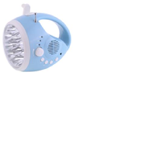 Crank Dynamo Flashlight Radio
