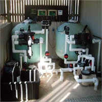 Commercial Swimming Pool Water Filtration Plant