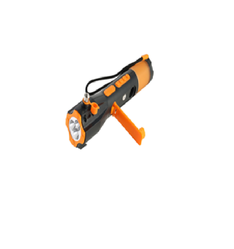 Emergency Torch With Hammer In Car