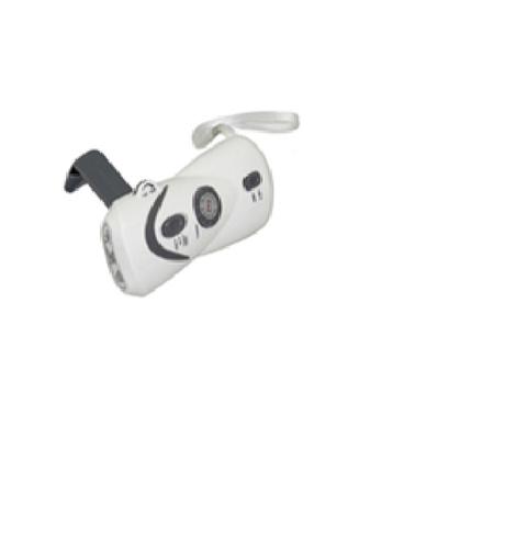 Crank Dynamo Flashlight With AM&FM Radio & Mobilephone Charger