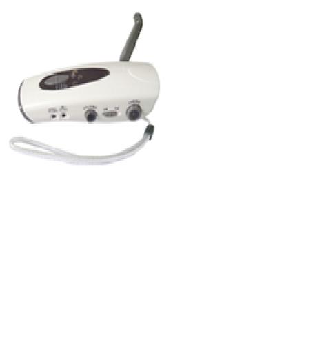 Crank Dynamo Flashlight With AM&FM Radio XLN 287B