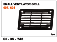 Car  Small Ventilator Grill Tata 407,608