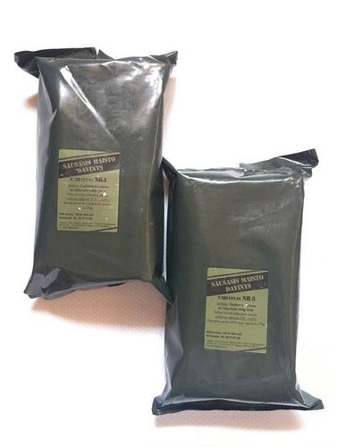 Lithuanian Military Ration- Army Food-MRE Meals Ready to Eat Survival Camping