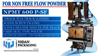 Sticky Powder Pouch Packaging Machine