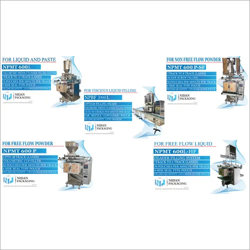 Food and Beverage Product Pouch Packaging Machine