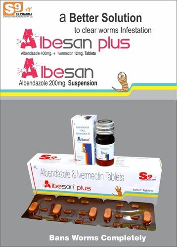 Albendazole  + Ivermectin