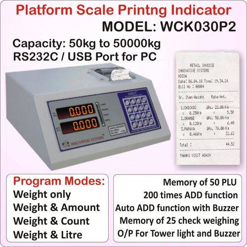 Printing  Scales