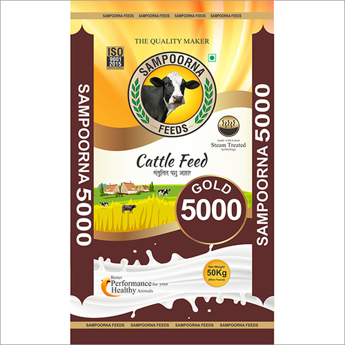 5000 Gold Cattle Feed