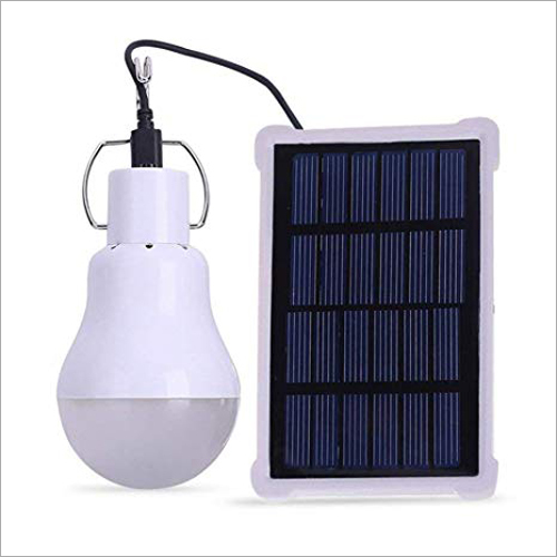 Portable Solar LED Bulb Light