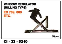 Car  Window Regulator Milling Type  Tata 709, 809  L/R