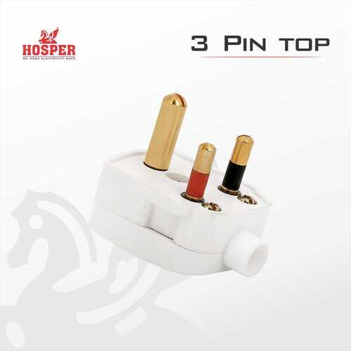 3 pin plug 6 amp