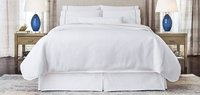 Plain White Bed Sheet