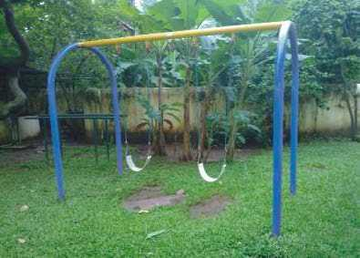 "Arch Double Swing 3"" Post (Sw 08)"