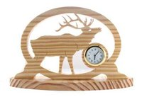 hand craft wooden clock