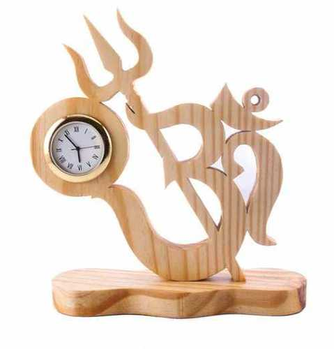 Wooden Office Clock