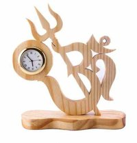 Wooden Office Clock