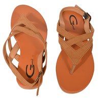 Gibelle Flat Casual Sandal With Bow