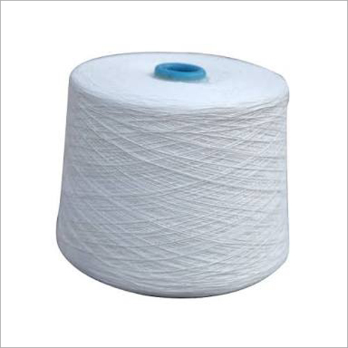 Textile White Cotton Yarn