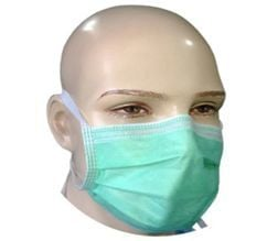 2 ply Ribbon Face Mask