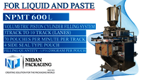 3 Track Packaging Machine