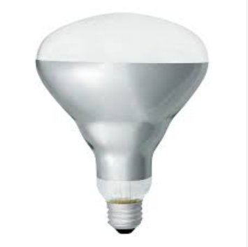 R40 Heat Lamps Clear Hard Glass With Ptfe