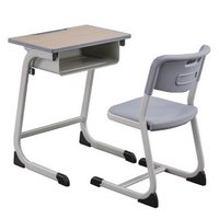 School furniture student desk and chair