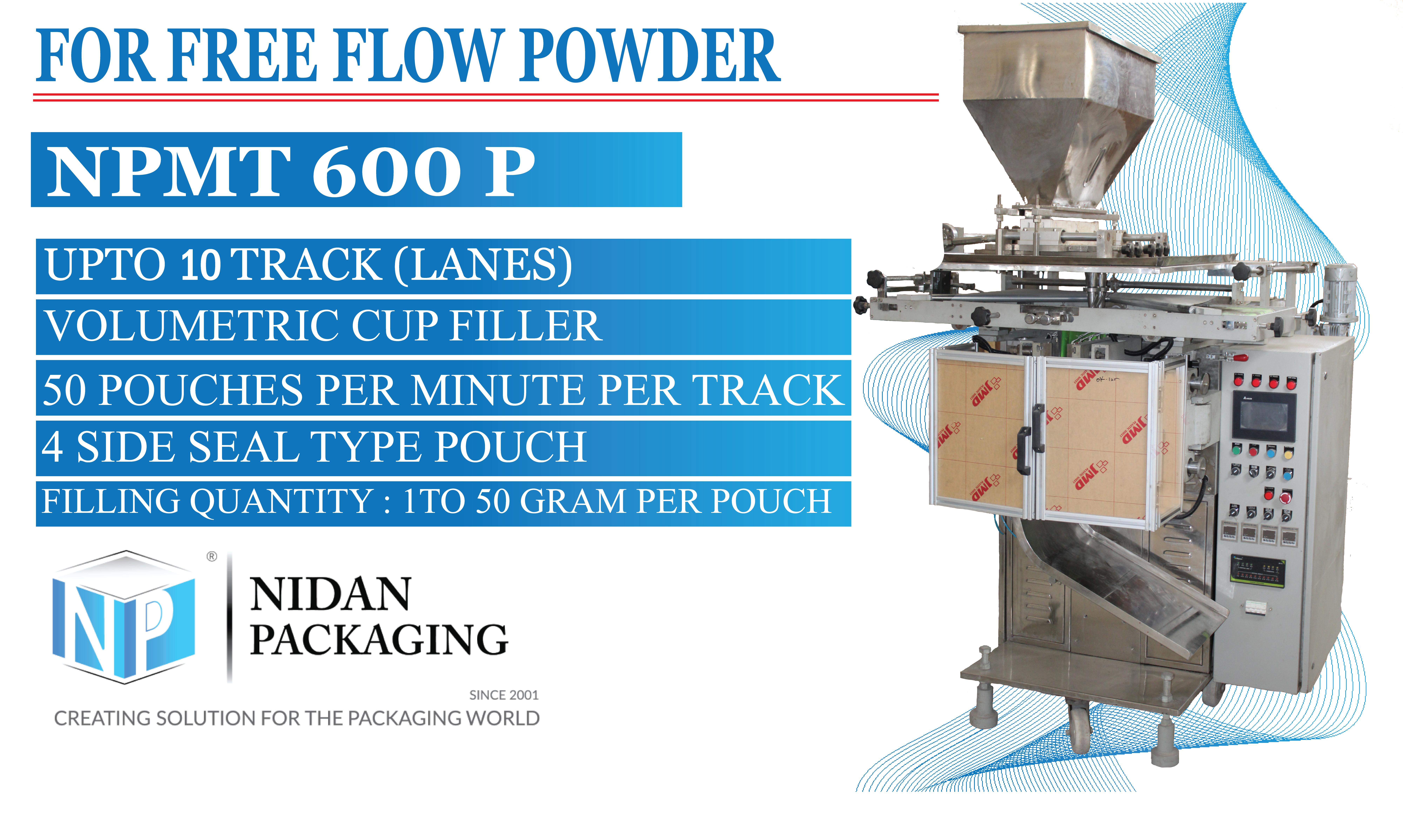 Powder Pouch Packaging Machine