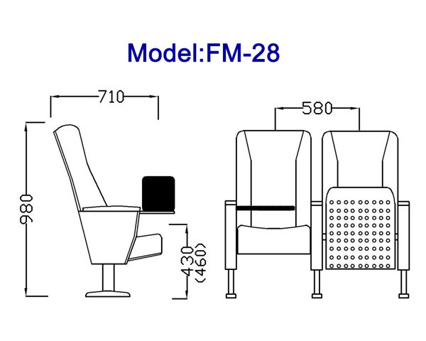 FM-28 Folding Conference Room Tables and Chairs