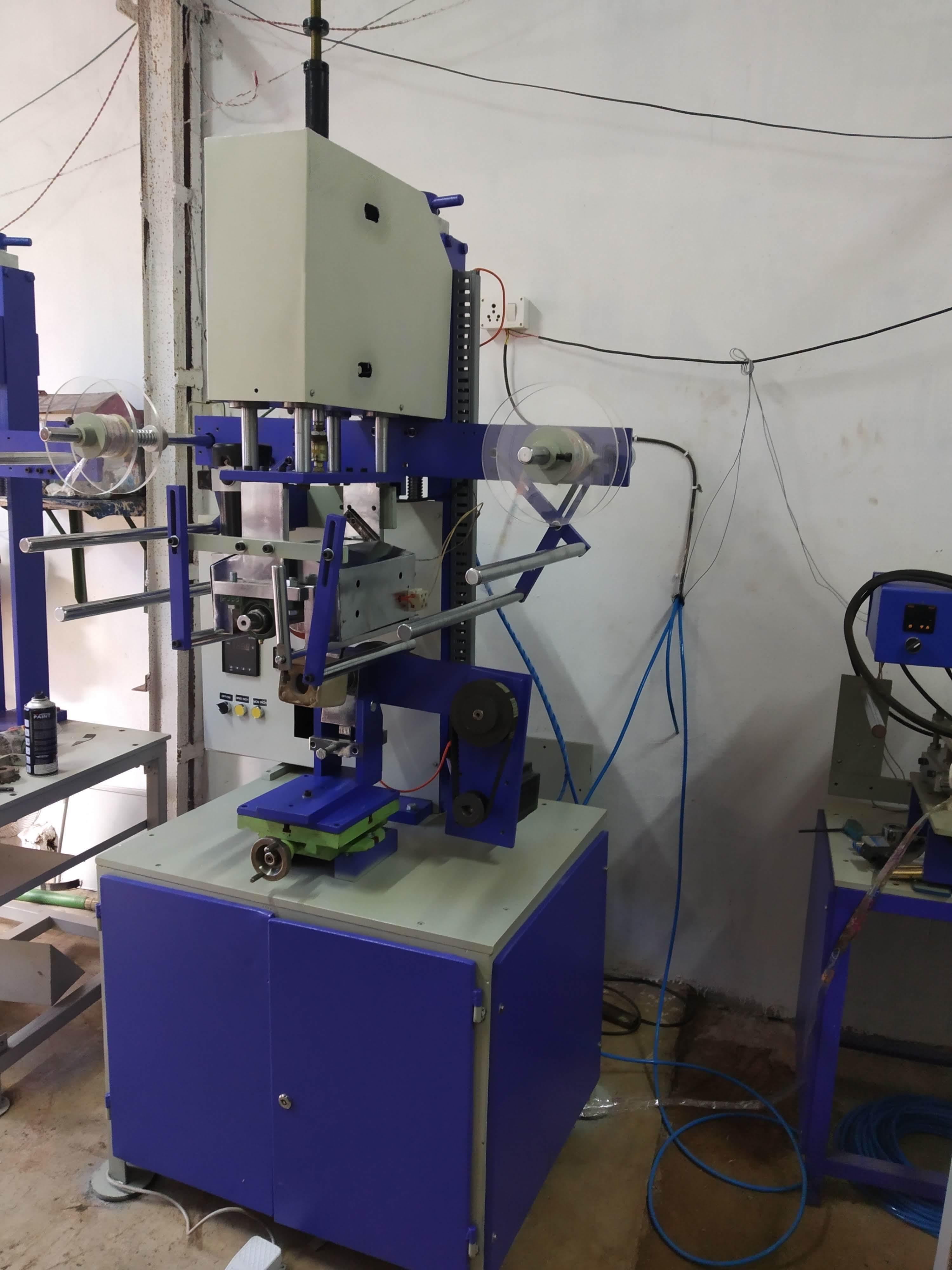 Heat Transfer Foil Machine
