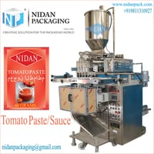 Multi track Tomato Paste Packaging Machine