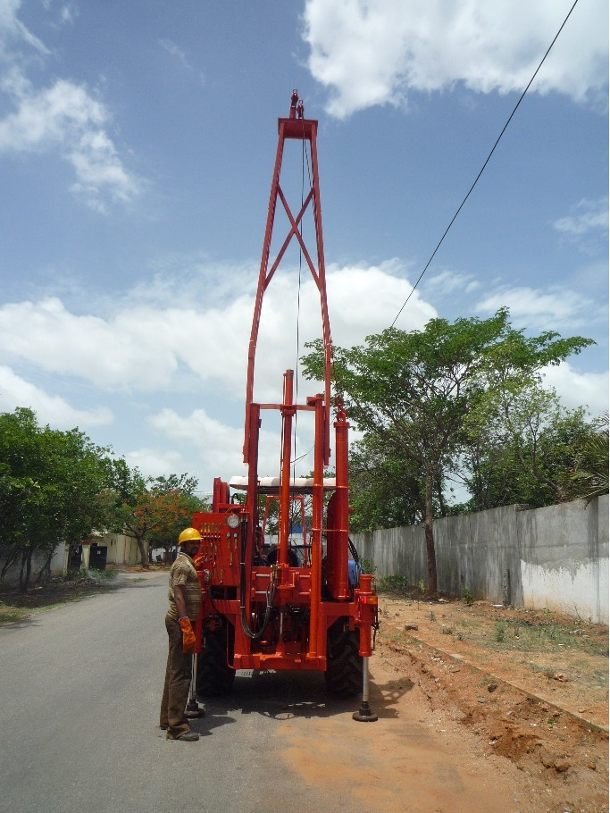 Tractor Mounted Auger, Rotary and Core Drilling rig