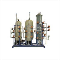 Industrial Water Demineralization Plant