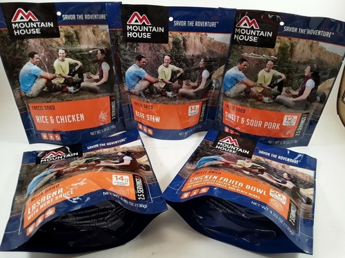 MOUNTAIN HOUSE Freeze Dried Food Emergency Survivor Meals