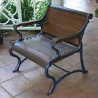 GRP Wrought Iron Finish Outdoor Chair