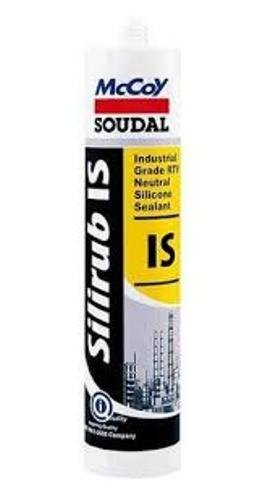 Food Grade Mccoy Soudal Silirub IS Clear 280ml Silicone Sealant