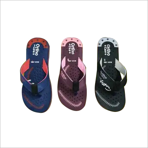 Ladies Designer Print Rubber Slipper