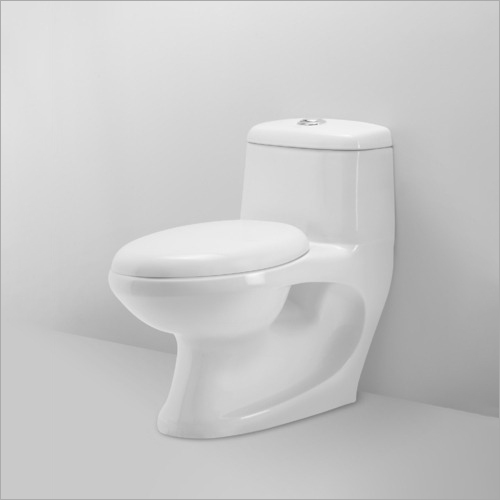 Ceramic Western Commode Toilet Seat