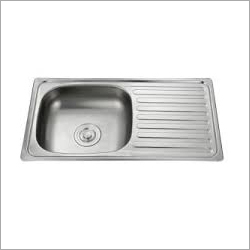 Single Bowl SS Sink With Drain