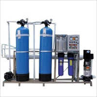 Commercial Reverse Osmosis Water Plant