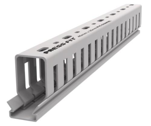 Pressfit PVC Open Slot Trunking